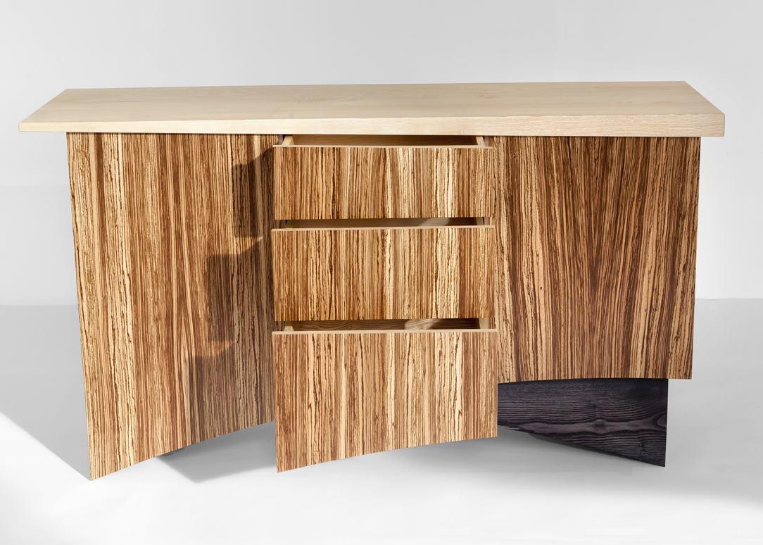 Zebrano Cabinet